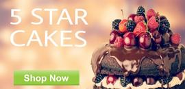 Order 5 Star Cakes