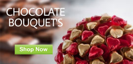 Order Chocolate Bouquets
