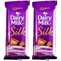 2 Cadbury Silk Chocolates