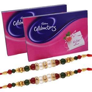 Rakhi and Cadbury