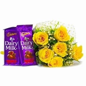 Valentines Yellow Delight