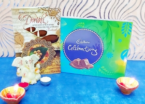 Greeting Card & Celebrations, Diya