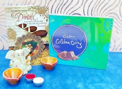 Greeting Card & Celebrations, Diya
