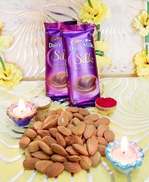 Dairy Milk Silk With Almonds