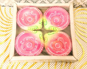 Designer Diya Set of 4