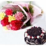 Flower & Cake